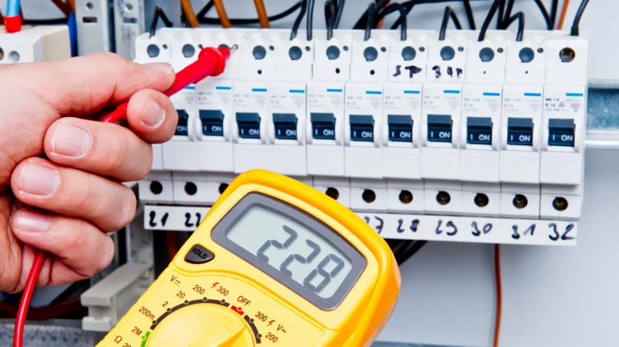 Evaluar el estado de la instalación eléctrica